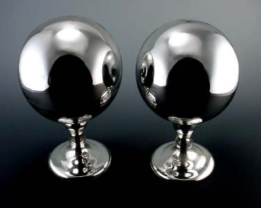 mother of pearl globes